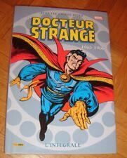 Marvel intégrale comics - DOCTEUR STRANGE 1963-1966 - rare EO Panini
