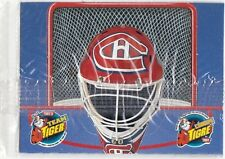 RARE MINT! 1996 KELLOGG'S TONYS TEAM TIGER MONTREAL CANADIENS GOALIE MASK SEALED