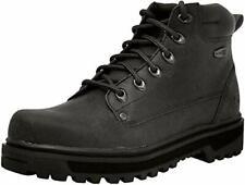 Skechers Men's Comfortable Leather Casual Pilot Utility Boot,8.5 DM US,Black