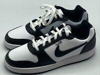 Nike Ebernon Low PRM Men Size 10.5 Shoes White Black Gray AQ1774 102 New in Box!