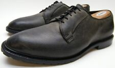 MENS ALLEN EDMONDS BLACK HILLS GREY GREEN LEATHER OXFORD DRESS SHOES 11.5~1/2 E