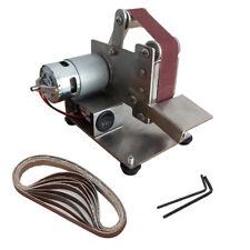 Mini Grinder Electric Belt Sander Polishing Machine Diy Cutter Edges Sharpener