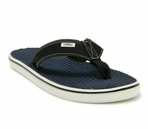 VANS Men's La Costa Lite Thong Flip Flops UltraCush Sandals BLUE/WHITE Size 11