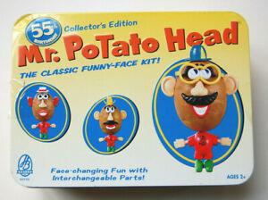 Mr. Potato Head 55th Birthday Hasbro 02755 Mint in Original Tin