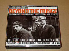 3 CD The Complete Beyond the Fringe Box Set Emi 1996