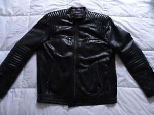 Magnifique veste cuir REDSKINS taille XL  blouson no diesel g-star ralph lauren