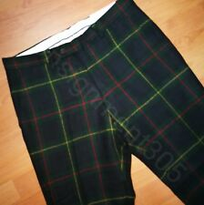 Polo Ralph Lauren Slim Fit 100% Wool Tartan Plaid Dress Pants 36 x 32 nwt