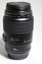 Canon USM EF 100mm F 2.8 Macro Lens 1.1.mm 5D 450D 1100D 550D 7D 1D 650D 600D