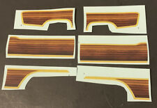 Revell 1929 Ford Roadster Decals Wood Paneling 1/25 M 054