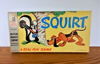 Squirt Milton Bradley Vintage Strategy Board Game 1955 Skunk Dog A Real Fun Game