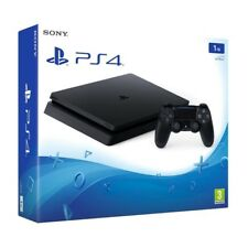 Sony PlayStation 4 ps4 Slim Negro 1tb consola de juegos video juegos consola 3d