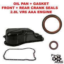 OIL PAN, OIL PAN GASKET KIT SEALS KIT, VW JETTA GOLF PASSAT, 2.8 VR6, AAA ENGINE