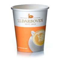 Darboven Coffee to go Becher 0,2l Pappbecher Kaffee 200 ml, 1000Stk.