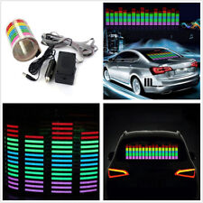 45X11cm Multicolor Car Off-Road Music Rhythm LED Flashing Decoration Decal Light