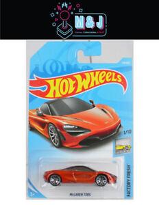 Hot Wheels McLaren 720S Orange Factory Fresh 178/365  (Aussie Seller)