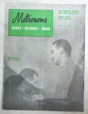 Vintage Metronome Music Magazine Aug 1949 Lennie Tristano Master in the Making