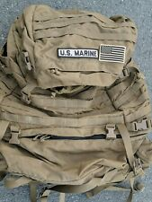 USMC FILBE Rucksack Bag w Complete Frame  + Pouches Patches