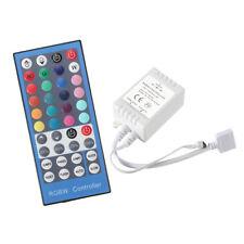 SET LED RGBW IR Controller Remote Steuerung + 40 Key RGB+W Fernbedienung 12V 24V