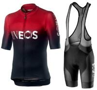 2019 New INEOS Summer Cycling Jersey Set Breathable Team Racing Sport Bicycle