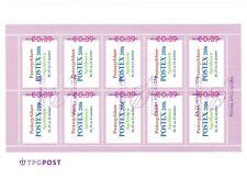 Vel persoonlijke postzegels Roze kader 2006 Postex FOUTIEF STEMPEL - NVPH 2420
