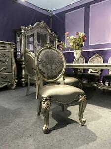 Upholstered Chair Luxury Armchair Living Room Dining Recliner Baroque New