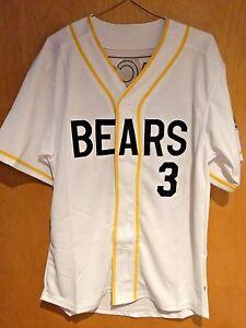 Bad News Bears #3 Kelly Leak Baseball Jersey Sewn Numbers S, M, L, XL, XXL