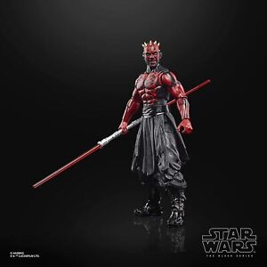 Star Wars The Black Series 6 Inches Darth Maul 2 X Lightsaber Accessories