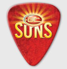 Gold Coast Suns AFL Guitar Picks * 5 Team Logo Picks
