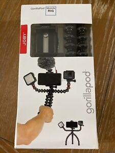 NEW JOBY JB01533-BWW GorillaPod Mobile Rig Tripod for Mobile Phones - Red/Black