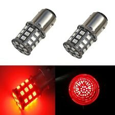 JDM ASTAR 2x 2835 33-SMD Red 1157 BAY15D LED Brake Tail Turn signal Lights Bulbs