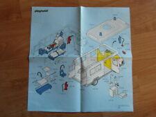 Playmobil BAUANLEITUNG Krankenwagen