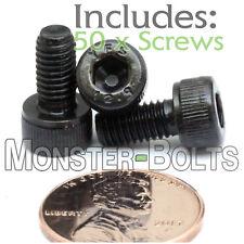 (50) M5 - 0.80 x 10mm - Socket Head Caps Screws 12.9 Alloy Steel Black Oxide 5mm