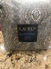 "Ralph Lauren Colchester Mist Blue Medallion Full/Queen Comforter - 94"" x 96"""