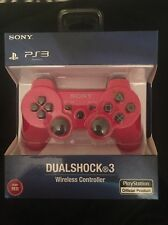 Brand New Sony Ps3 Wireless DualShock 3 SixAxis Wireless Controller  - Deep Red.