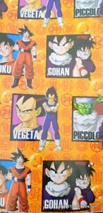 Dragon Ball Z Wrapping Paper Sheet Gift Book Cover Party Wrap 2PC Asian Boy SQ