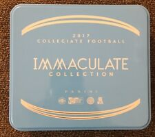 2017 Panini Immaculate College Football EMPTY Tin