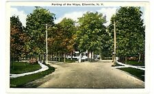 Ellenville NY - PARTING OF THE WAYS - Postcard
