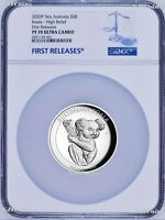 500 Mintage 2020 P Australia HIGH RELIEF 5oz Silver Koala $8 Coin NGC PF70 FR