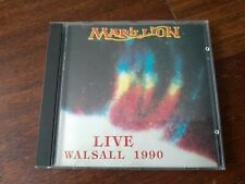 MARILLION LIVE WALSALL1990 1CD RARE OOP HOLIDAYS IN EDEN RADIATION LIMITED