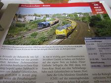 Archiv  Eisenbahnstrecken 425 Gelsenkirchen Essen