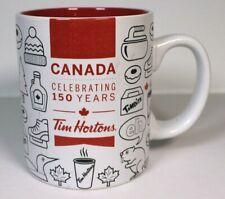 Tim Hortons Canada Celebrating 150 Years Limited Edition 2017 Coffee Mug
