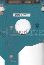 MK6465GSX, HDD2H81 B UL02 T, G002641A, Toshiba 640GB SATA 2.5 PCB