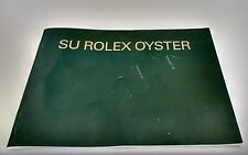 Booklet YOUR ROLEX OYSTER LIBRETO BROCHURE Manual 2004 SPANISH VERSION 579.54