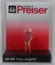 Preiser 28190 Woman Finger Pointing 00/H0 Model Railway Figure