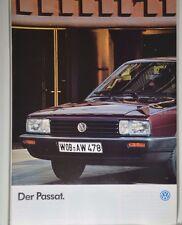 VW Volkswagen Passat 32B C CL GL GT Limo Kombi Schrägheck Prospekt 01/1986