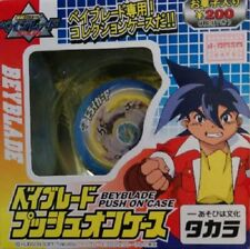 Takara 2001 Beyblade G-revolution Push on case Yellow Driger