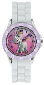 Disney Toy Story Quartz White Rubber Strap Time Teacher Girls Watch TYM9007