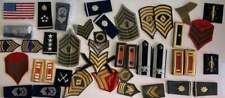 NO RESERVE Large lot of military insignia patches
