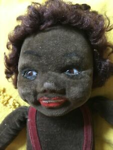 Norah Wellings Black Doll Vintage