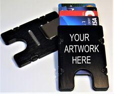 Personalize, Custom Design Billetvault Mens Wallet/Credit Card Holder